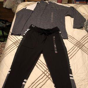 PINK Victoria's Secret  sweatshirt/jogger set. NWT